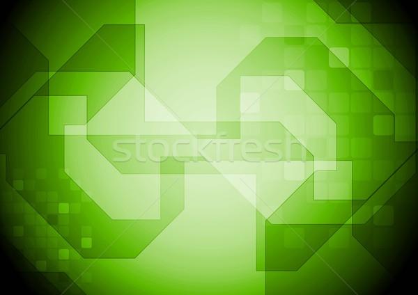 Colorido tecnologia projeto abstrato vetor fundo Foto stock © saicle