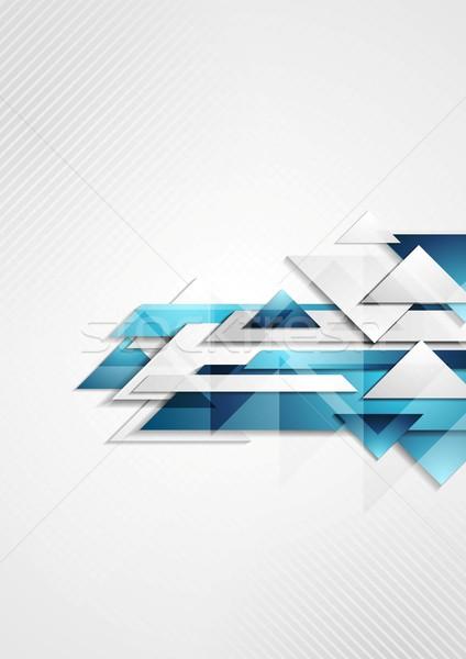 Abstract vector moderne ontwerp textuur licht Stockfoto © saicle
