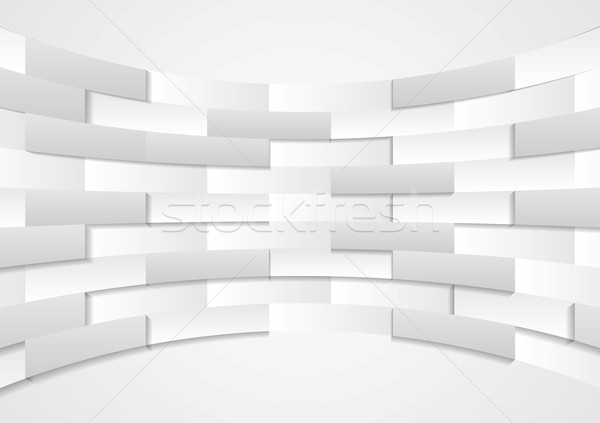 Abstract grey technical background Stock photo © saicle