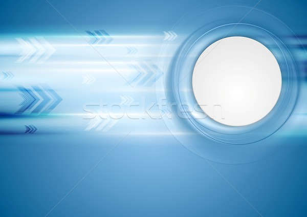 Hi-tech blue background Stock photo © saicle