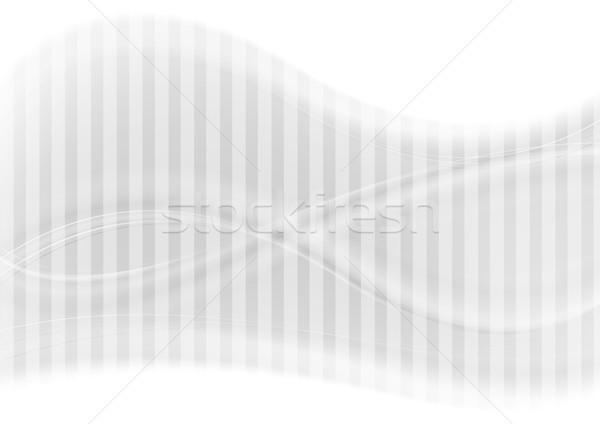 Streszczenie zamazany szary fale wektora Zdjęcia stock © saicle