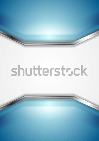 Abstract technical background with metallic elements Stock photo © saicle