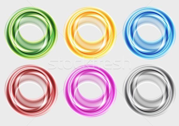 Colorato abstract forme eps 10 Foto d'archivio © saicle