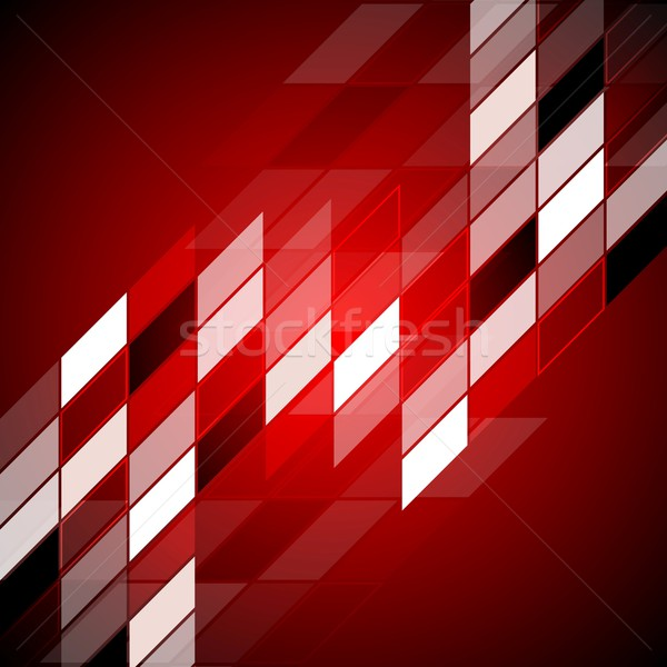 красный аннотация дизайна вектора текстуры свет Сток-фото © saicle
