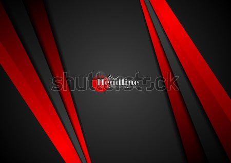 Stock photo: Corporate concept contrast vector background