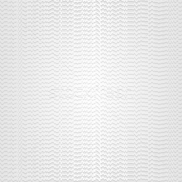 Abstract grey wavy stripes pattern design Stock photo © saicle
