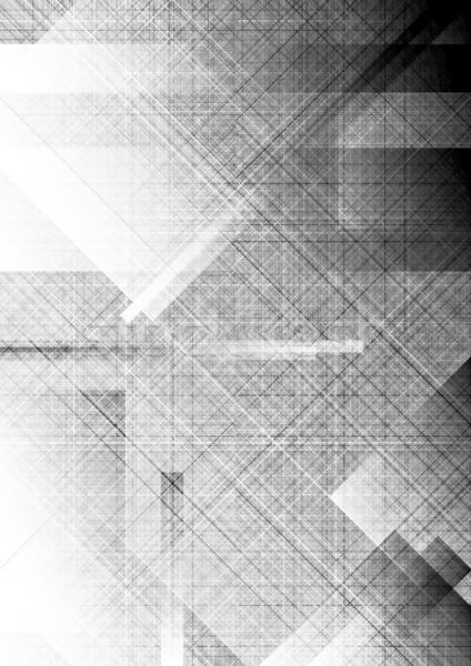 Textural background - eps 10 Stock photo © saicle