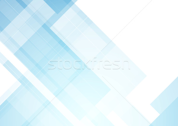 Minimal blue tech abstract background Stock photo © saicle