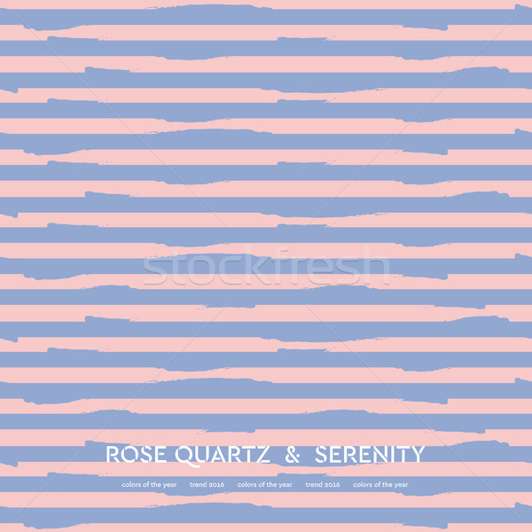 Abstract rose quartz and serenity striped background Stock photo © saicle