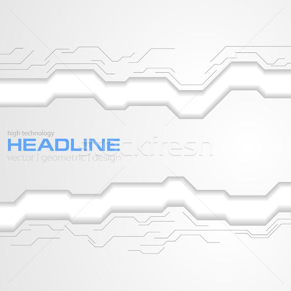 灰色 技术 企业 电路板 向量 设计 商业照片 saicle