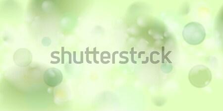 薄緑 抽象的な ぼけ味 ベクトル デザイン ストックフォト © saicle