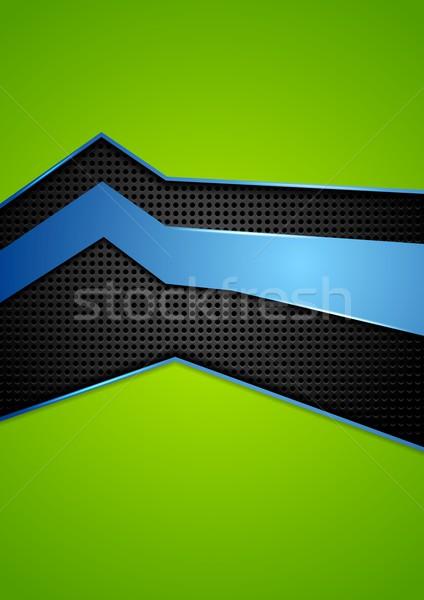 Noktalı metal doku parlak vektör doku soyut Stok fotoğraf © saicle