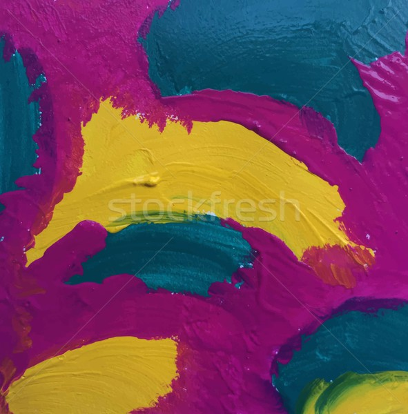Colorful watercolor abstraction art Stock photo © saicle