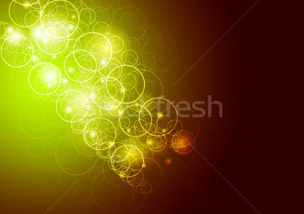 Vektor pezsgő sablon absztrakt színes eps Stock fotó © saicle