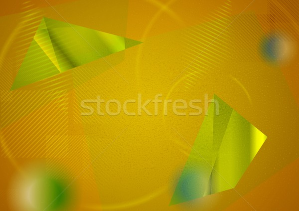 Abstract futuristic hi-tech background Stock photo © saicle