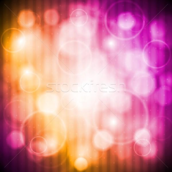 Colourful shiny background Stock photo © saicle