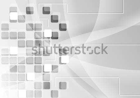 Szary geometria wektora projektu tekstury świetle Zdjęcia stock © saicle