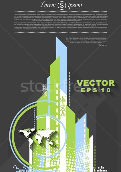 Streszczenie minimalny tech wektora projektu tekstury Zdjęcia stock © saicle