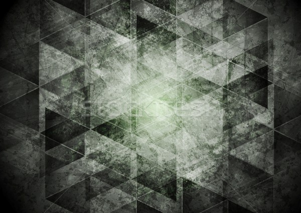 Ciemnoszary geometria grunge wektora projektu tekstury Zdjęcia stock © saicle