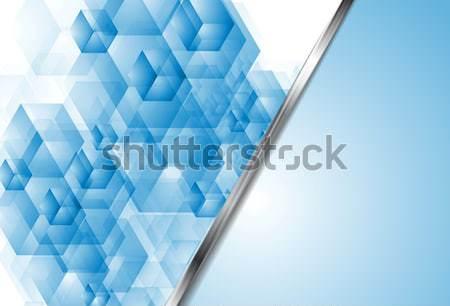 Luminoso piazze design abstract texture internet Foto d'archivio © saicle