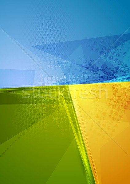 Heldere abstract contrast vector ontwerp textuur Stockfoto © saicle