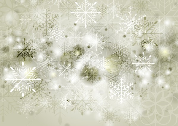 Abstract sepia vector christmas groet textuur Stockfoto © saicle