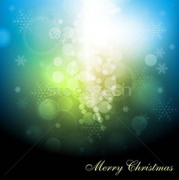 Abstract kerstmis vrolijk christmas eps 10 Stockfoto © saicle