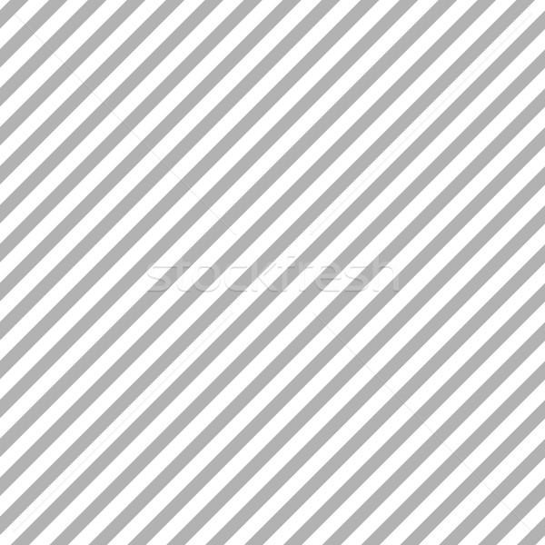 Grey diagonal stripes seamless pattern Stock photo © saicle