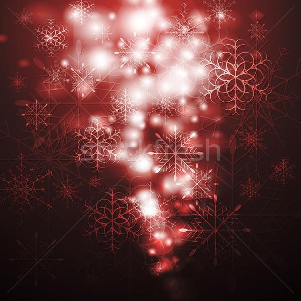 Abstract X-mas background. Vector illustration Stock photo © saicle