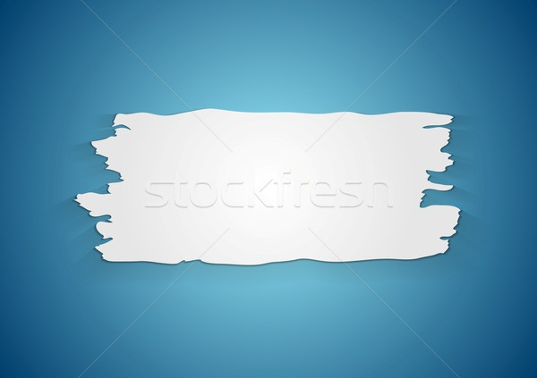 Stock photo: Abstract ragged paper background