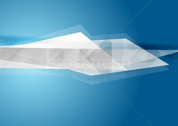 геометрия Tech ярко вектора дизайна текстуры Сток-фото © saicle