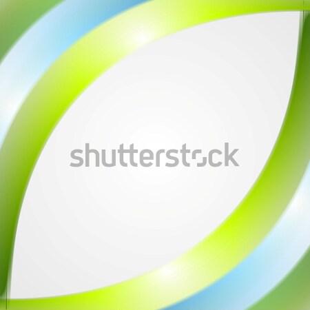 Abstract bright wavy background Stock photo © saicle