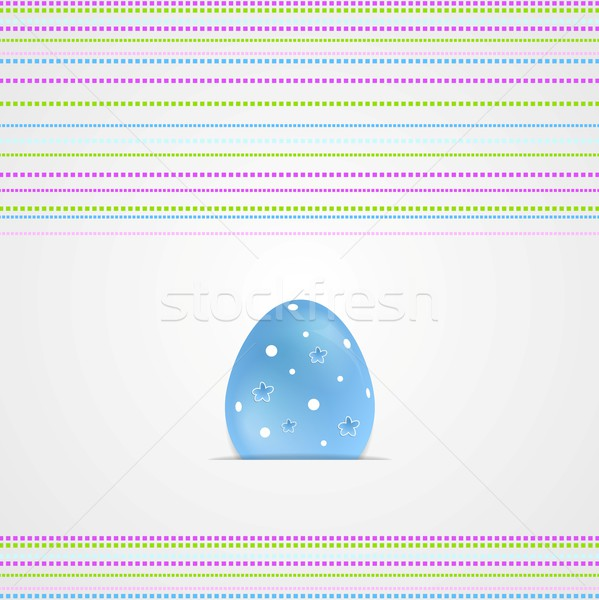 Easter greeting card graphic vector design Stock photo © saicle