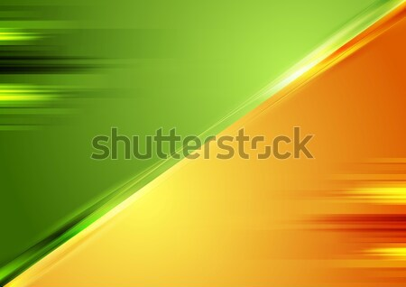 Bright contrast vector background Stock photo © saicle