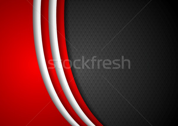 Abstract dark corporate background Stock photo © saicle