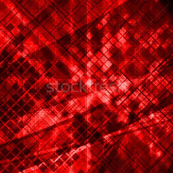 Piros grunge terv sötét textúra eps Stock fotó © saicle