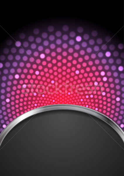 Abstract purple shiny flicker glowing design Stock photo © saicle