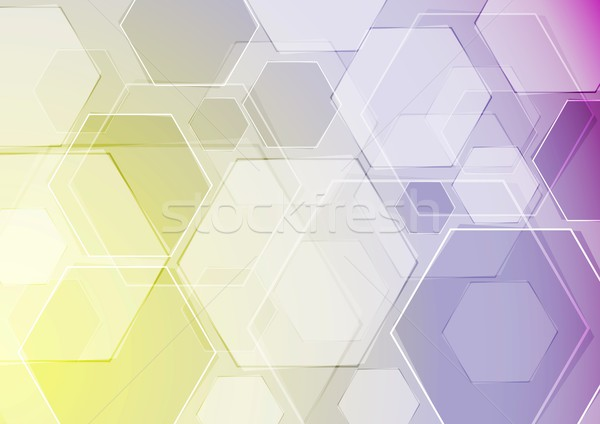 Vector sjabloon abstract moderne business textuur Stockfoto © saicle