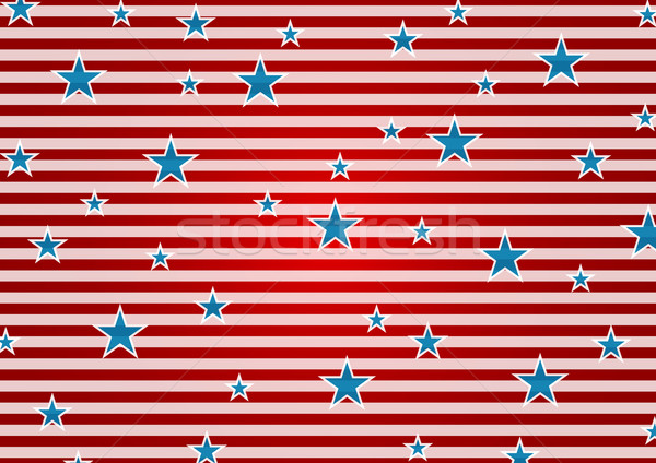 Presidents Day abstract USA flag colors background Stock photo © saicle