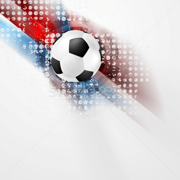 European Football Championship in France vector design Stock photo © saicle