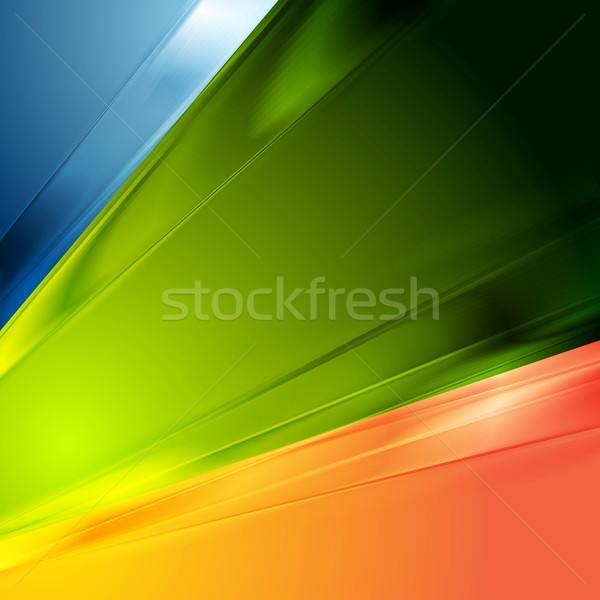 Abstract heldere contrast elegante vector ontwerp Stockfoto © saicle