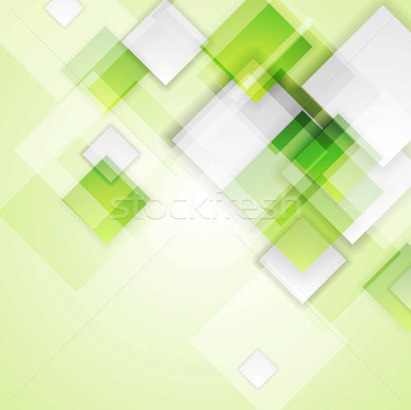 Lichtgroen pleinen abstract vector tech ontwerp Stockfoto © saicle