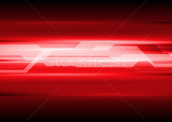 Dark red technical abstract background Stock photo © saicle