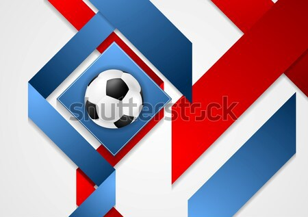 Euros football championnat France entreprise design Photo stock © saicle