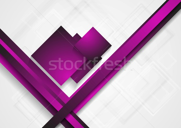 Heldere abstract tech ontwerp vector textuur Stockfoto © saicle