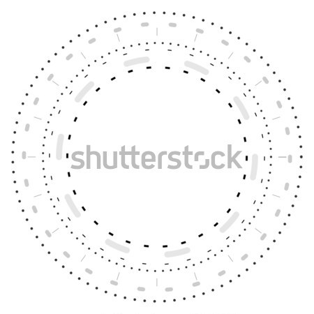 Grey tech futuristic engineering drawing Stock photo © saicle
