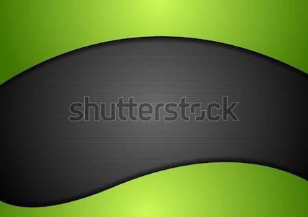 Abstract tech contrasto vettore design eps10 Foto d'archivio © saicle