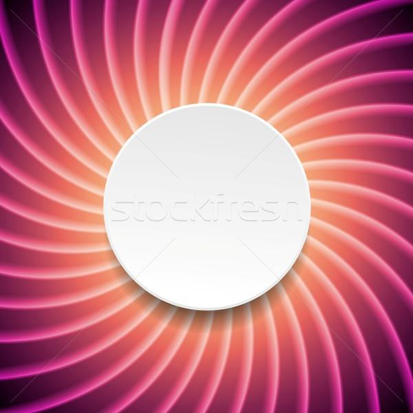 Pourpre tourbillon cercle vecteur web Photo stock © saicle