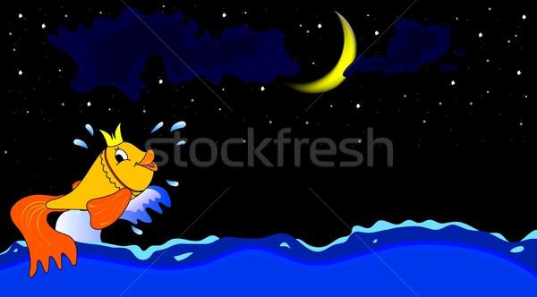 Goldfish Stock photo © saicle