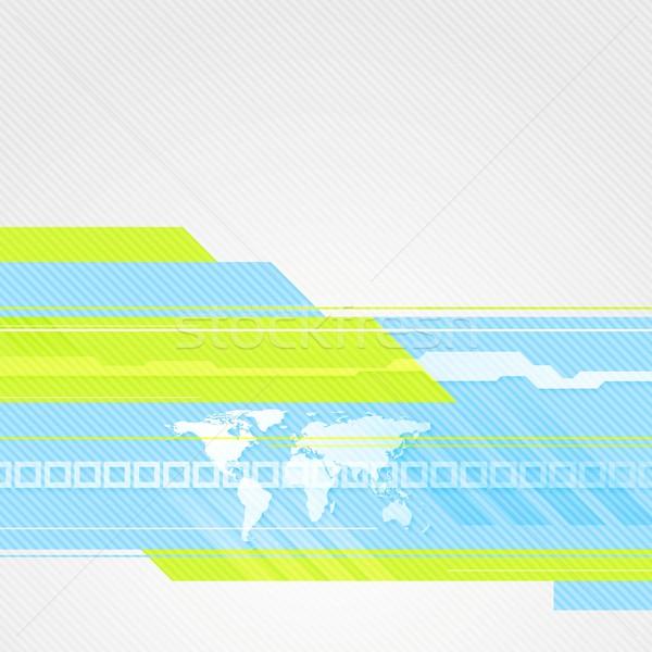 Streszczenie minimalny technologii wektora projektu tekstury Zdjęcia stock © saicle